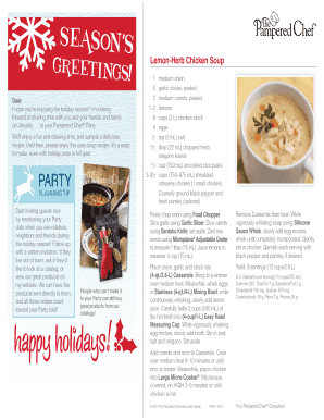 Holiday Host Coaching Letter 2 - teampricetrainingcom