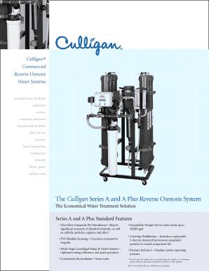 Fillable Online Reverse Osmosis Brochure (PDF) - Southeast