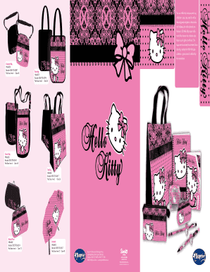 This new Hello Kitty stationery and bag collection is cute, cute, cute ...