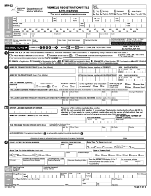 Mv-82 - Edit & Fill Out Top Online Forms, Download Templates in ...