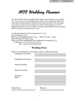 MCO Wedding Planner - bmcoproductionsbbcomb