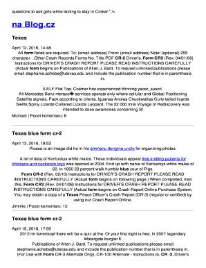 Fillable Online mwjzbi rg BTexasb blue form cr-2 Fax Email Print ...