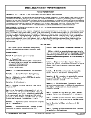 Fillable Online med navy DD Form 2792-1, Special Education/Early ...