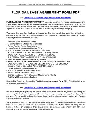 Printable florida lease agreement edit fill out download forms bfloridab lease agreement form pdf tolianbiz home platinumwayz