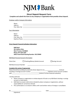 how to get a direct deposit form online bmo