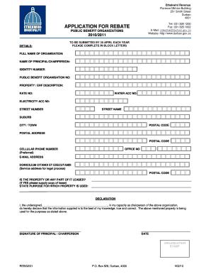 35638720 Job Application Form Ethekwini Munility on