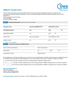 Dws Simple Ira Transfer - Fill Online, Printable, Fillable, Blank ...