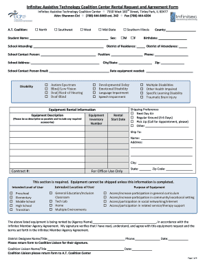 rental form fy09 with policy attachments