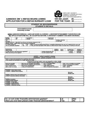 Voorbeeld Van N Aansoek Brief Fill Online Printable Fillable