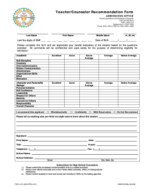 Professional Reference Form - Fill Online, Printable, Fillable ...