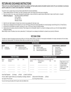 Fillable Online Online return form - Foot Locker Fax Email Print ...