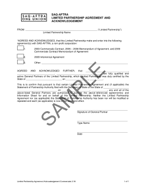 LIMITED PARTNERSHIP AGREEMENT AND
