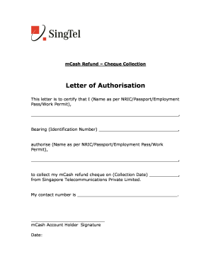 17 Printable Authorisation Letter To Collect Documents Forms And