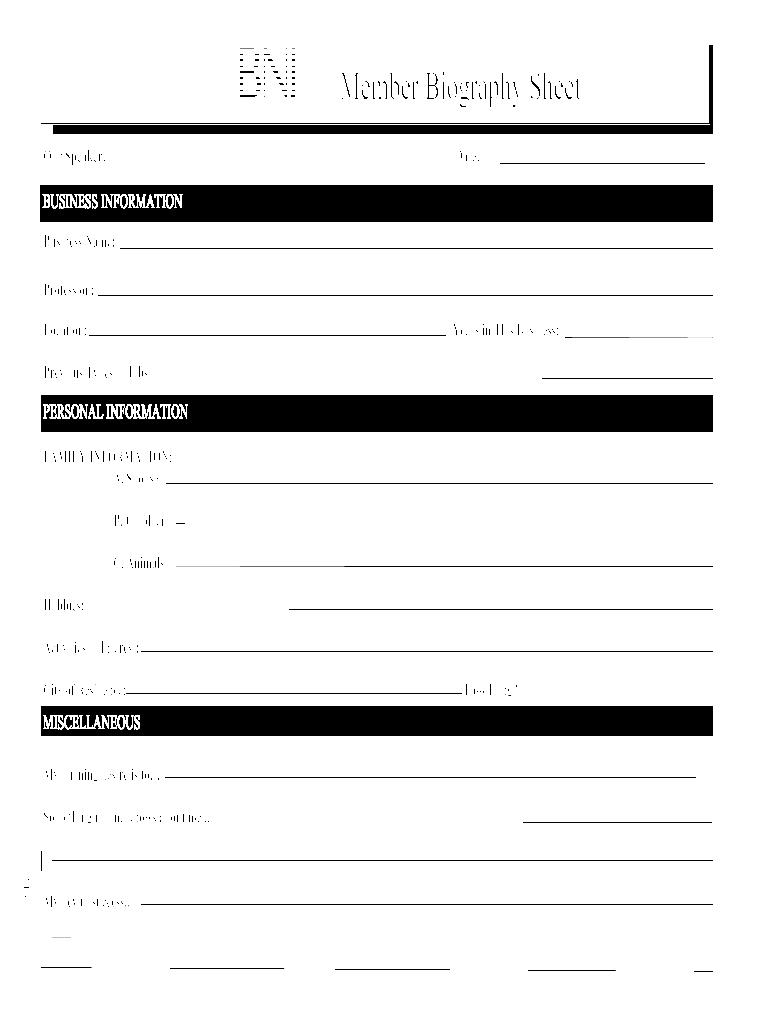 baio sheet