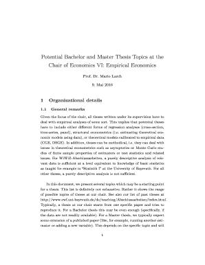 Geo phd thesis