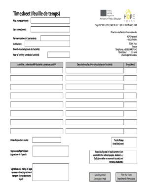 timesheet pdf