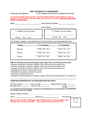 Editable planned parenthood pregnancy confirmation letter fill out rubeola rubella mumps the university of health center altavistaventures Images