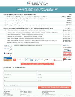 bestellformular-sap-personalanzeigen-60-Tage.indd Fill Online ...