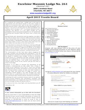 Fillable online excelsiorlodge261 april2015trestleboard fill online maxwellsz