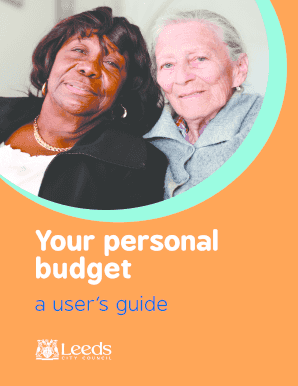Your personal budget - Leeds Centre for Integrated Living - leedscil org