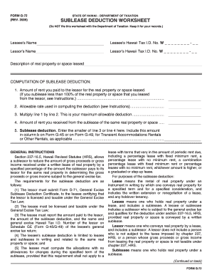 Hawaii ge tax forms - Edit, Fill, Print & Download Online ...