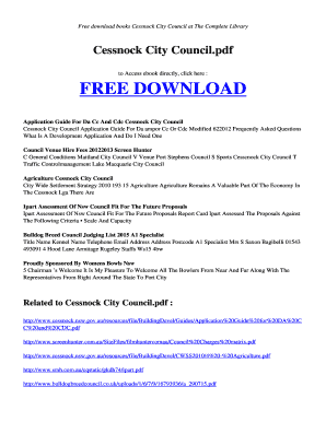 CESSNOCK CITY COUNCILPDF Free Download and Read Books CESSNOCK CITY COUNCIL PDF - radiorusak esy