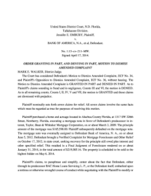 Fillable sample complaint for breach of promissory note florida