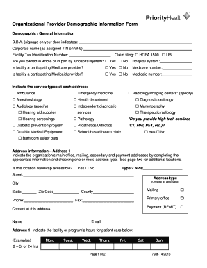 Printable hcfa 1500 form 2016 - Edit, Fill Out & Download Forms ...