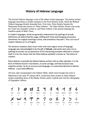 hebrew alphabet chart pdf - Edit, Print, Fill Out & Download Online