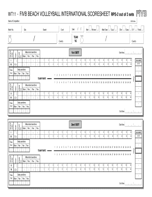 graphic regarding Printable Volleyball Score Sheet referred to as 22 Printable ranking sheet volleyball Types and Templates