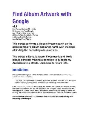 Editable album artwork contract to Submit Online | artwork