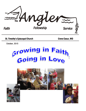 October 2015 Angler (1).pub - St. Timothy's Episcopal Church