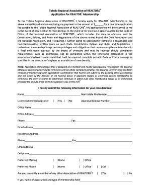 california association of realtors application to rent Printable california association of realtors application to rent ...