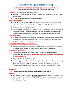 Fillable school leaving certificate format of cbse - Edit