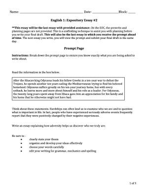 9/11 essay questions