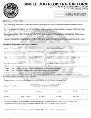 Ubkc Registration - Fill Online, Printable, Fillable, Blank ...