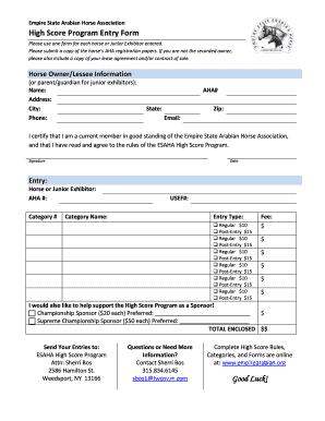 Editable horse sale contract template fill print download law high score program entry form empire state arabian horse altavistaventures Image collections