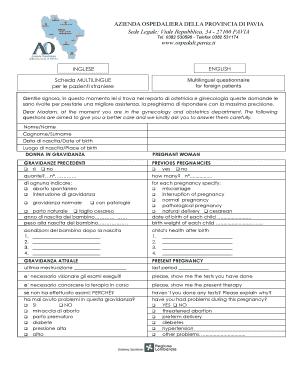 Fillable Online Asst Pavia Azienda Ospedaliera Della Provincia Di Bpaviab Sede Legale Asst Pavia Fax Email Print Pdffiller