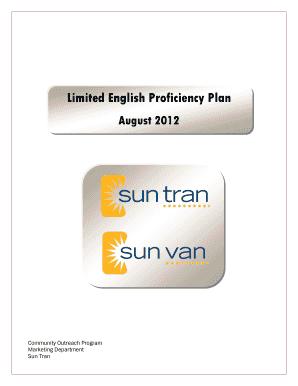 Fillable Online Sun Tran and Van Tran Fax Email Print - PDFfiller
