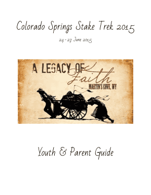 Youth & Parent Guide - Colorado Springs Stake Youth - Home