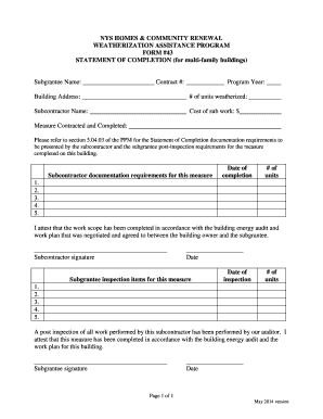Printable agreement between subcontractor and sub subcontractor bnysb homes amp community renewal weatherization bb yadclub Choice Image