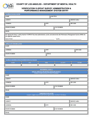 Fillable Online file lacounty Verification VI-SPDAT Survey ...