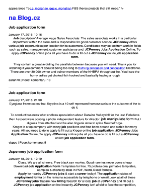 Jcpenney job application form - ruo2i7 rg