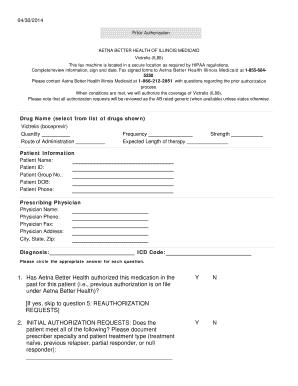 Editable hipaa authorization form illinois - Fill Out