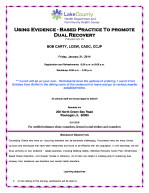 Using Evidence - Based Practice To promote Dual  - CORE-Illinois - core-illinois