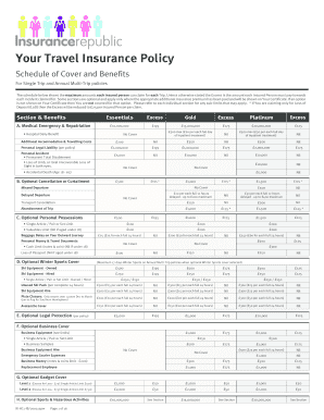 Your Travel Insurance Policy - Insurance Republic