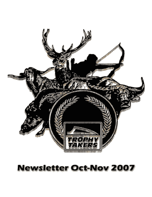 TT Newsletter Oct-Nov 2007 - Trophy Takers - trophytakers