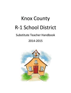 Fillable Online prepro knox k12 mo Knox County R-1 School
