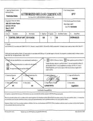 Authorized Release Certificate - Fill Online, Printable, Fillable ...