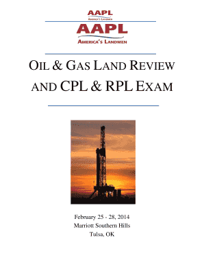 Fillable Online landman AND CPL & RPL EXAM - landman Fax